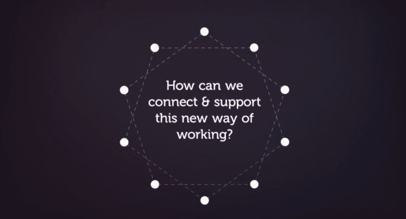How can we connect & support this new way of working?